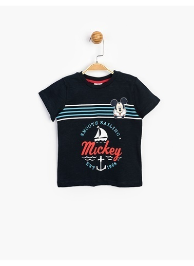 Mickey Mouse Tişört Lacivert